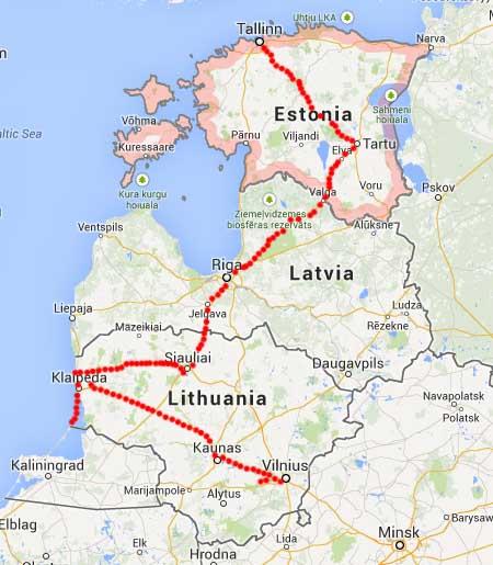 Baltic Trip Latvia